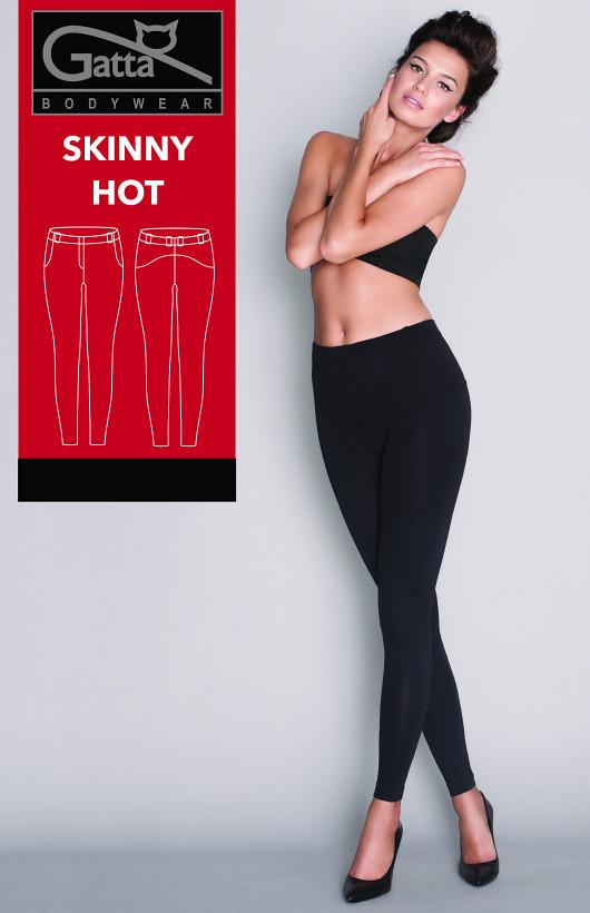 Spodnie Gatta Skinny Hot Czarne 4502S