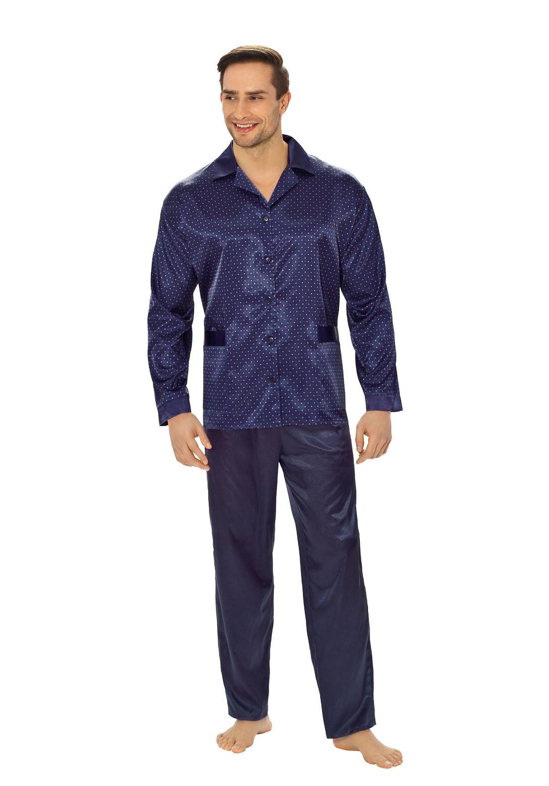 79bbe892c030d9 Piżama Luna 750 M-XXL - Bielizna męska - piżamy - długi rękaw - Mada.pl