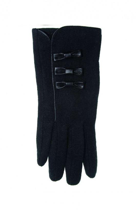 Rękawiczki YO! R-041 Kokardy damskie