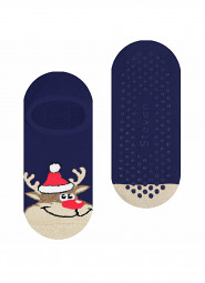 Stopki Steven Świąteczne Frotte ABS art.134