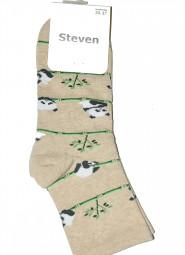 Skarpety Steven art.099 Wzór