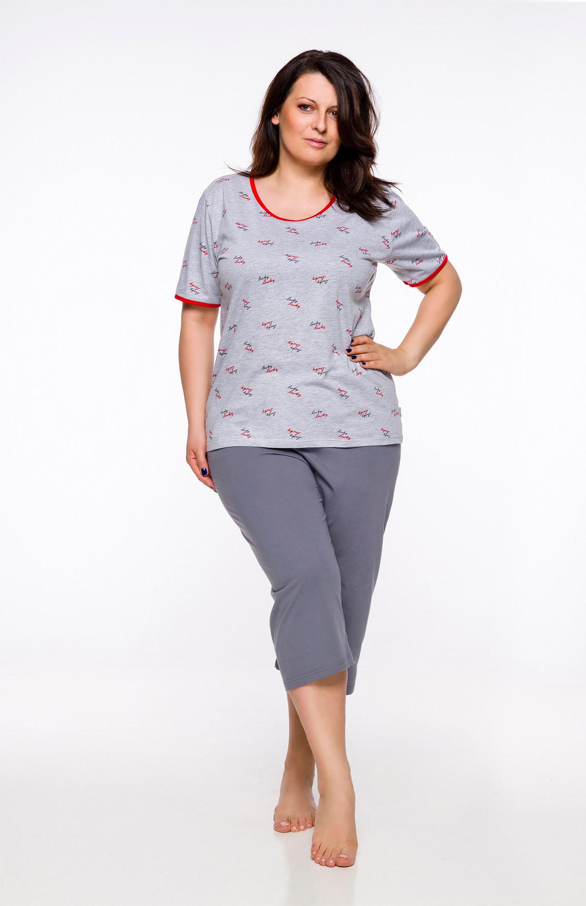 004b7b170703b0 Piżama Taro Róża 2334 kr/r 2XL-4XL '20 - Bielizna damska - piżamy ...