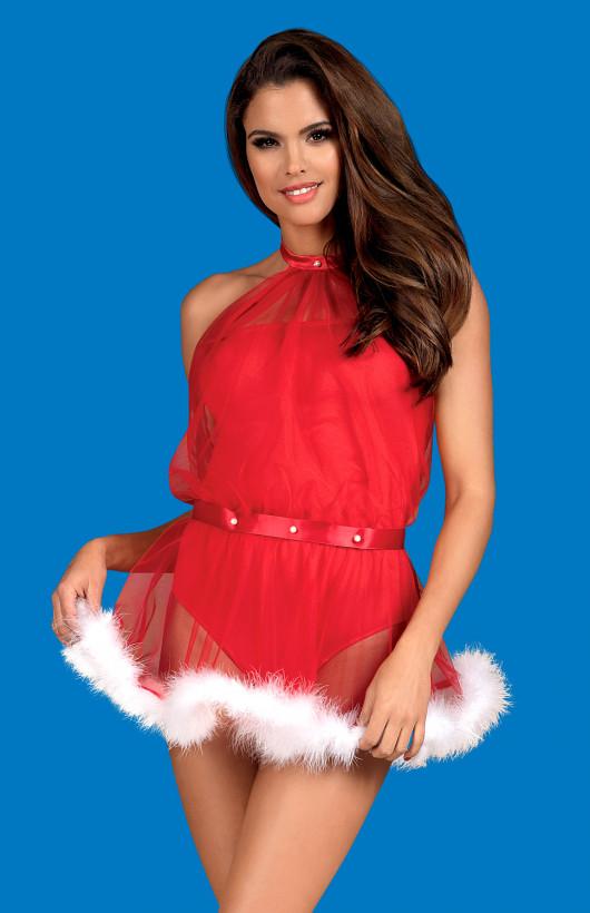 Sukienka Obsessive Santastic Dress