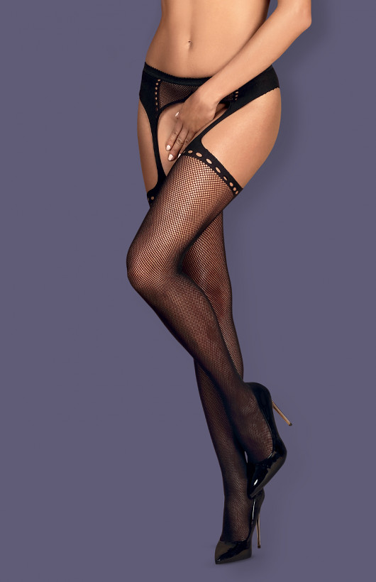 Pas Obsessive S314 Garter Stocking