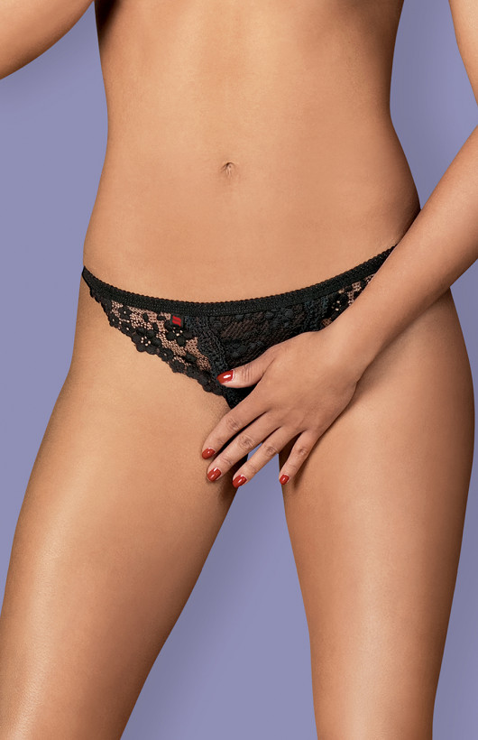 Stringi Obsessive Letica Crotchless Thong