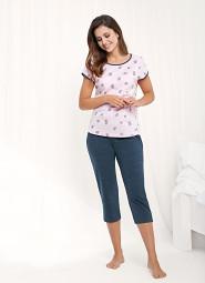 Piżama Luna 477 kr/r 3XL damska