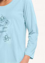 Koszula Luna 066 dł/r M-2XL damska