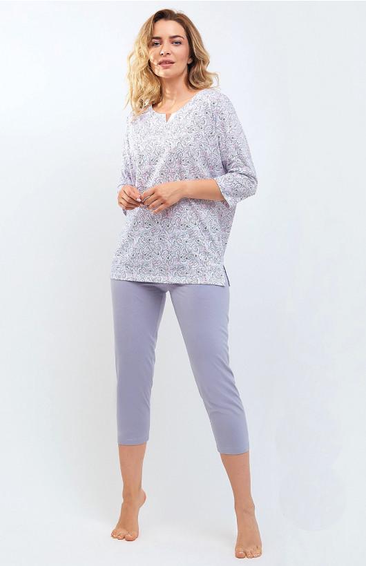 Piżama Cana 533 3/4 S-XL