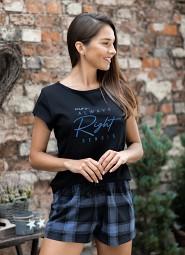 Piżama Sensis Meg kr/r S-XL