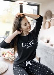 Piżama Sensis Love Please 3/4 S-XL
