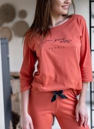 Piżama Sensis Hypnotic dł/r S-XL