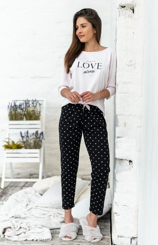 Piżama Sensis In Love 3/4 S-XL