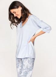 Piżama Cana 576 3/4 S-XL